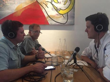 Ian Nenke, Todd Lejnieks, Chef Lorenz Raich