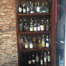 Chef's Table Liquor Selection