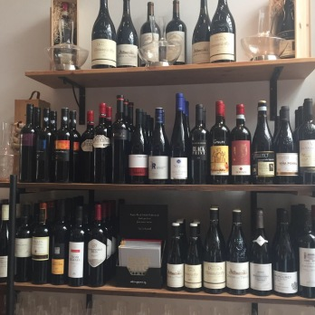 Chef's Table wine pairing options